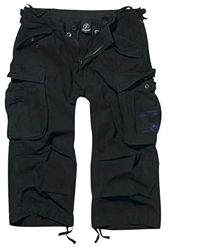 Brandit Industry Vintage 3/4 Short schwarz 3XL - Herren Kleid Hose