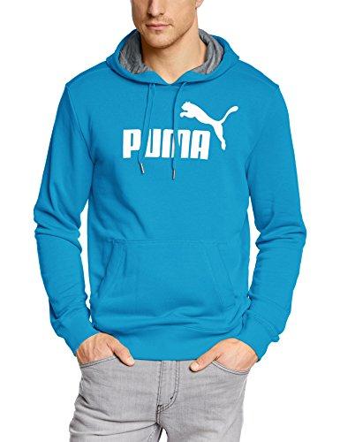 PUMA Herren Sweatshirt ESS No.1 Logo Hooded Sweat TR Atomic Blue