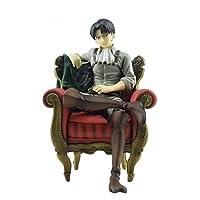 مجسم ليفاي اكرمان كرسي من انمي الهجوم على العمالقة