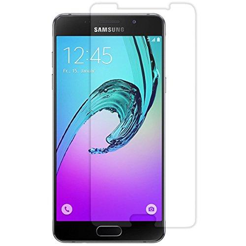 Preisvergleich Produktbild VPOWER® Panzerfolie für Samsung Galaxy A5 2016 - HD crystal clear - 9H Hartglas Schutzfolie Panzerglas Displayschutzfolie (Premium tempered Glass) 3D Touch kompatibel