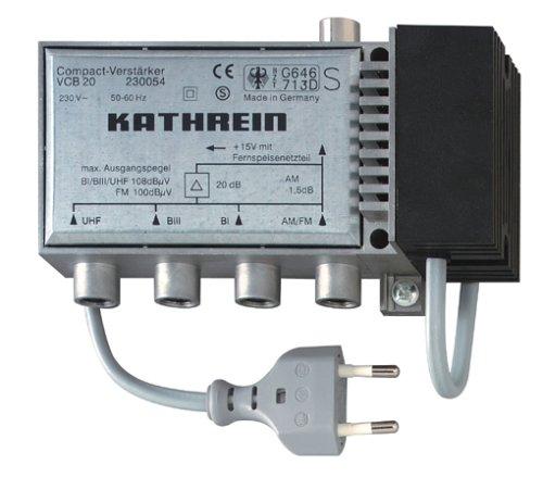 KATHREIN VCB 20 Antennenverstärker 20dB, 4 Eingänge
