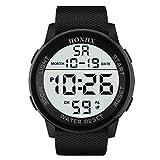 UINGKID Collection Unisex-Armbanduhr Herren Uhren Ultra Dünne wasserdichte Armbanduhr der...