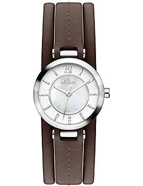 s.Oliver Damen-Armbanduhr SO-3276-LQ