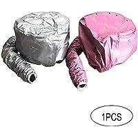 DDG EDMMS Tratamiento 1pc Tapa de Cuidado del Cabello Secador de Pelo secador de Pelo Casquillo Gorra de calefacción secador de Pelo del Sombrero Tapa de Seguridad Adjunto salón portátil sombrer