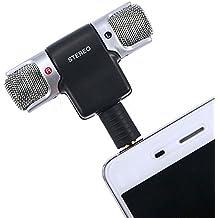 owikar 3,5mm estéreo micrófono de condensador electret ECM-DS70p clara voz Mini micrófono para grabación Entrevista Universal para Sony iphone Samsung Android teléfonos y Tablet PC For phones
