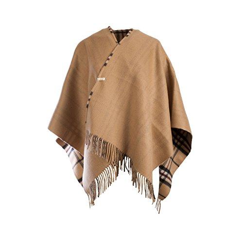 Dunedin Cashmere - Poncho -  donna Thomson Camel/Camel