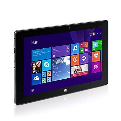 TrekStor SurfTab wintron 10.1 25,7 cm (10.1 Zoll), WiFi, Tablet-PC (Intel Atom Z3735F, 2 GB RAM, 32 GB Speicher, Windows 8.1 Update, schwarz)