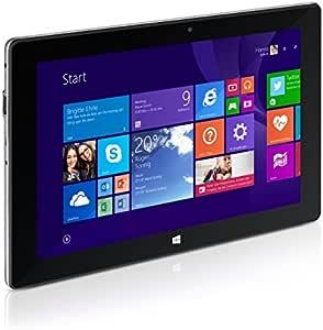 TrekStor SurfTab wintron 10.1 25,7 cm (10.1 Zoll), WiFi, Tablet PC (Intel Atom Z3735F, 2 GB RAM, 32 GB Speicher, Windows 8.1 Update, schwarz)