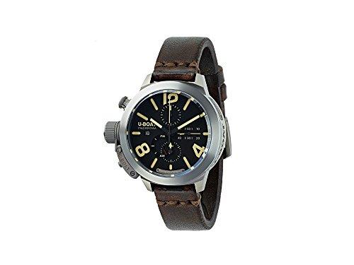 U-Boat Classico Automatic Watch, Titanium, Tungsten, 45mm, Chronograph, 8061