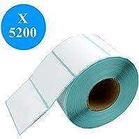 DynaSun 5200 Etichette Termiche Adesive 100x50mm Rotolo