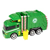 Teamsterz Large Light & Sound Garbage Truck | Kids Civilian Toy Vehicle Recycling Lorry Great For Children Aged 3+
