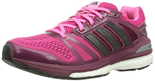 adidas Supernova Sequence Boost 7 Damen Laufschuhe Pink (Buzz Pink/Core Black/Neon Pink)