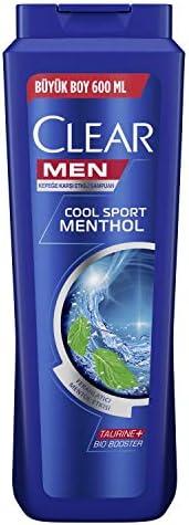 Clear Men Erkek Şampuan Cool Sport Menthol Kepeğe Karşı Etkili 600 ml