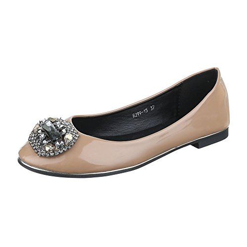 Ital-Design, Ballerine donna Marrone