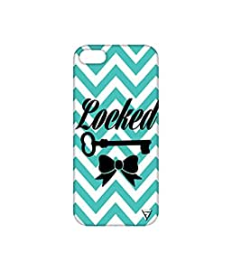 Vogueshell Locked Printed Symmetry PRO Series Hard Back Case for Apple iPhone SE
