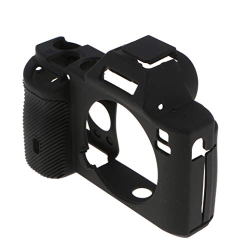 Baoblaze Coque De Protection en Silicone Noire pour Boîtier Sony pour Appareil Photo Sony A7R A7S A7