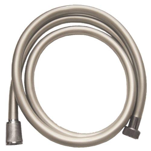MGM Products Flexible de douche ultra résistant en PVC Chrome argenté 1,5 m