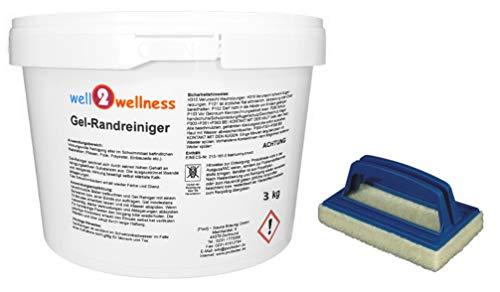 Schwimmbad + Poolreiniger - Gel-Randreiniger 3,0 kg plus Reinigungspad