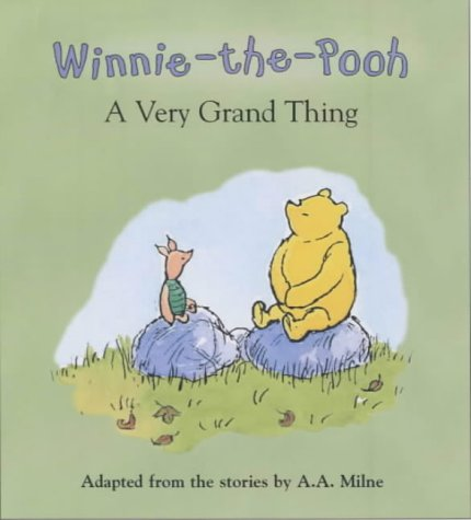 Winnie-the-Pooh's book and toy gift set.