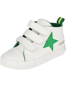 Kentti Star Collection, Zapatillas de Deporte Altas Clásicas con Velcro para Niña Niño