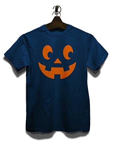Kuerbis Face T-Shirt Navy Blau