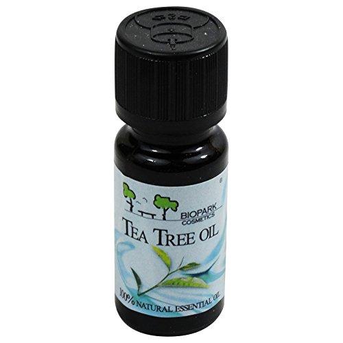 Biopark - olio essenziale di tea tree - malaleuca - astringente e purificante acne e forfora - 10 ml