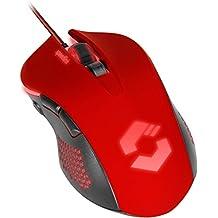 SPEEDLINK-680008-bkrd professionale 5tasti Gaming Mouse per PC/Computer, Torn Gaming USB Nero Rosso