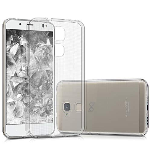 kwmobile bq Aquaris VS Plus Hülle - Handyhülle für bq Aquaris VS Plus - Handy Case in Transparent