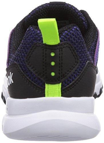 Reebok  Sublite Train RS 2.0, Chaussures de fitness femmes Noir - Schwarz (Team Purple/Black/Solar Yellow/White)