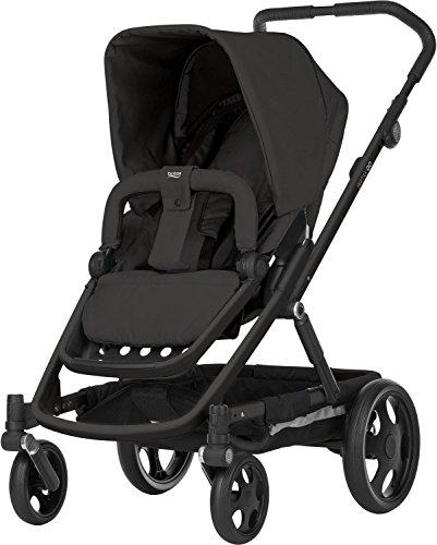 Britax GO Kinderwagen mit Sportaufsatz (6 Monate - 3 Jahre), Kollektion 2018, Cosmos black