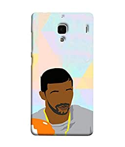 PrintVisa Designer Back Case Cover for Xiaomi Redmi 1S :: Xiaomi Hongmi 1S (Colourful Rainbow Faceless Feature less)