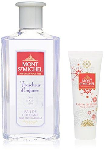 Mont Saint Michel Coffret 2 Produits Eau de Cologne Flacon 250 ml/crème mains 50ml