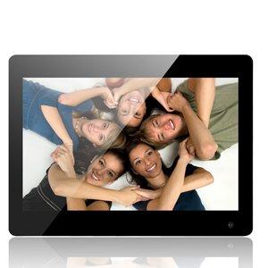 Andoer 15 Zoll-großer Schirm LED-Digital-Foto-Rahmen-Album-Wand-anbringbarer Schreibtisch 1280 * 800 stützen Fernsteuerungs mit Bewegungs-Abfragungs-Sensor