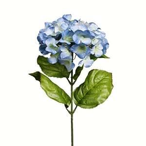 Fiori finti Ortensie/Ortensia 70 cm blu artificiale Decodificare Fiori Fiori di tessuto