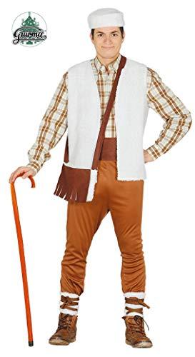 7b1048ede4609 Guirca Costume vestito pastore presepe Natale carnevale uomo 42350