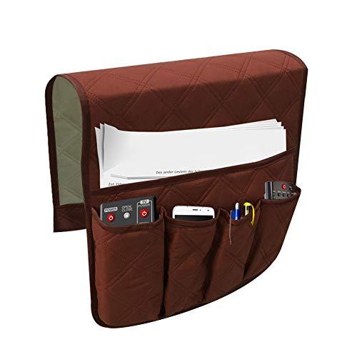 Proglam 1 Stück Sofa Armlehne Organizer Tasche Couch Stuhl TV Fernbedienung Zeitschriften Wasserdicht Aufbewahrungstasche Coffee -