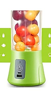The Vogue Nation Portable USB Electric Juicer Blender Drink Bottle 380 ml Juicer Cup with Sipper
