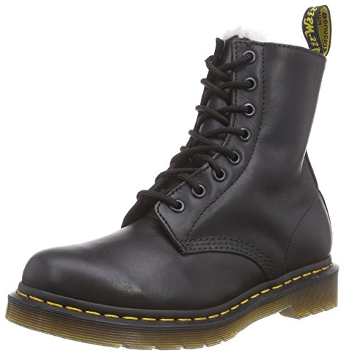 Dr. Martens SERENA Polished Laredo BLACK, Damen Combat Boots, Schwarz (Black), 39 EU (6 Damen UK)