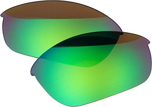 Zero Ersatz-Objektive für Oakley Half Jacket 2.0polarided Sonnenbrille, Green Mirror Polarized