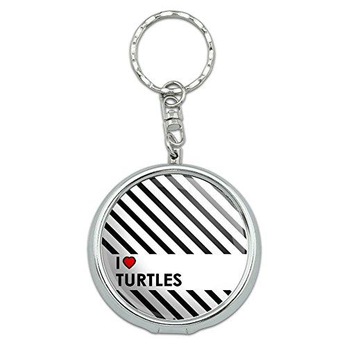 portable-travel-size-pocket-purse-ashtray-keychain-i-love-heart-n-w-turtles