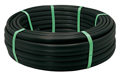 AQUA CONTROL C4363 Pack de 5 Tubería Principal Lisa, Negro, 5000x3x3 cm