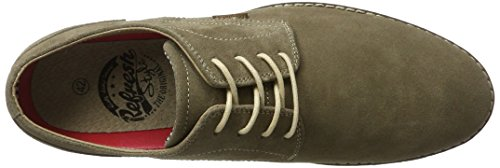 Refresh 63215, Chaussures à lacets homme Taupe