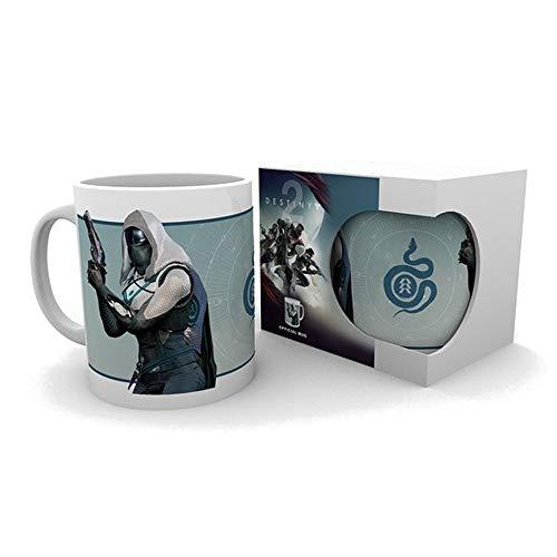 Destiny 2 - Hunter - Tasse | Füllmenge 320 ml | Weiß aus Keramik (Playstation 2-halo)