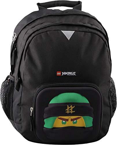 LEGO Bags Kinderrucksack 3D, Rucksack nur 440 g, Kindergartenrucksack mit Lego Ninjago Motiv Masks, Lloyd Schulrucksack, 36 cm, 17.5 Liter