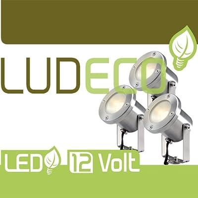Strahler-Komplett-Set CATALPA, Power LED mit Kabel und Trafo von Techmar B.V. auf Lampenhans.de