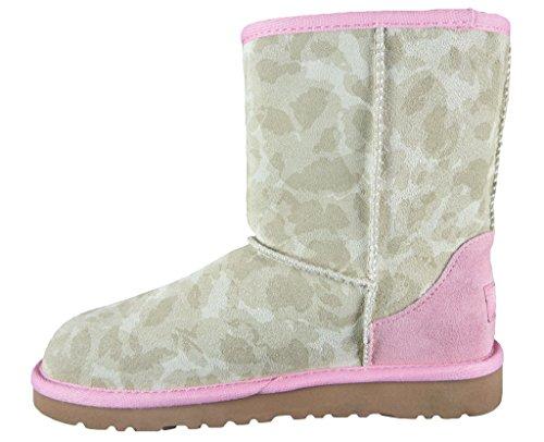 ugg-australia-k-classic-boots-para-nina-color-rosa-talla-32