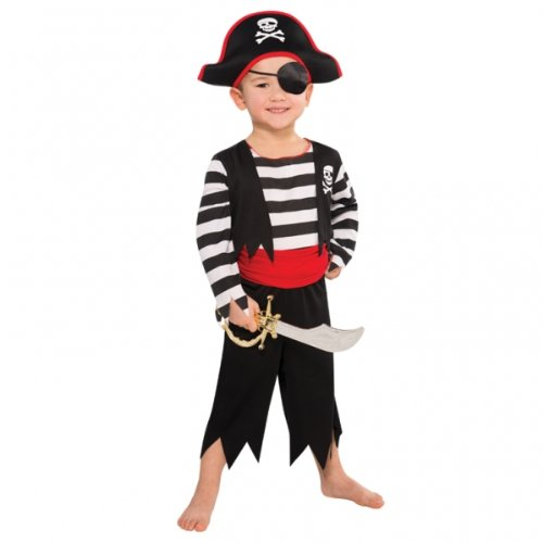 Piraten-Kostüm - für Jungen - Medium