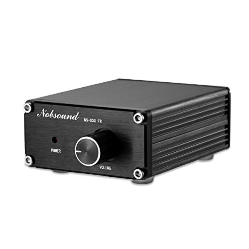 Nobsound 100W Subwoofer / Full Frequency Mono Channel Digital Power Amplifier Audio Mini Amp (Full Frequency, Black) Single-channel-modul Video