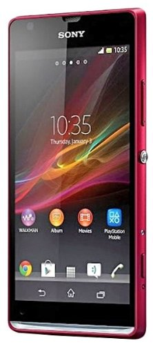 Sony Xperia SP Smartphone (11,7 cm (4,6 Zoll) Touchscreen, 1,7GHz, Dual-Core, 1GB RAM, 8GB interner Speicher, 8 Megapixel Kamera, NFC, Android 4.1) rot