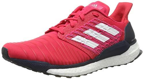 adidas Solar Boost M, Chaussures de Running Homme, Rose Active Pink/FTWR White/Legend Ink, 43 1/3 EU